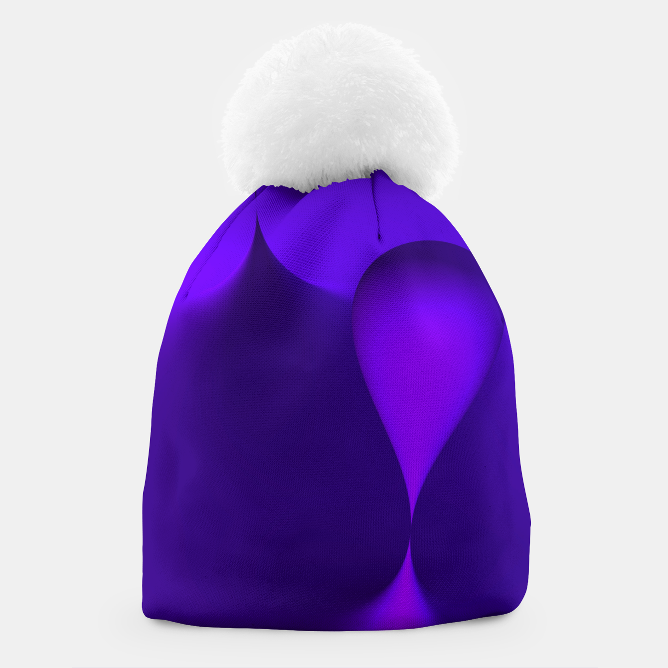 Image of globby lilac Beanie - Live Heroes