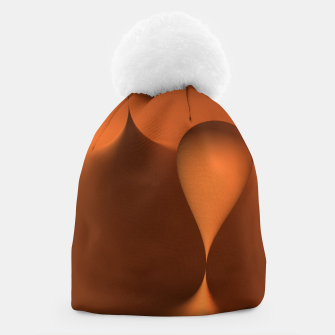Thumbnail image of globby orange Beanie, Live Heroes