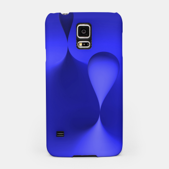Thumbnail image of globby blue Samsung Case, Live Heroes
