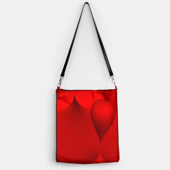 Thumbnail image of globby red Handbag, Live Heroes