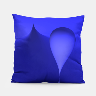globby blue Pillow thumbnail image