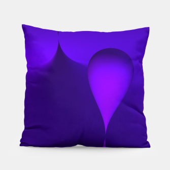 Thumbnail image of globby lilac Pillow, Live Heroes