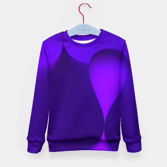 Thumbnail image of globby lilac Kid's Sweater, Live Heroes