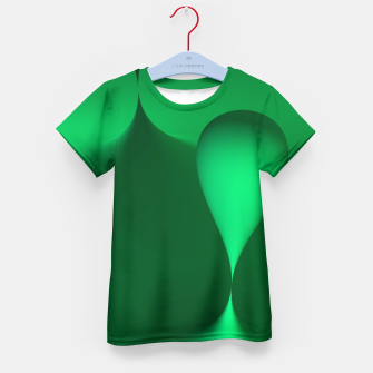 Thumbnail image of globby green Kid's T-shirt, Live Heroes