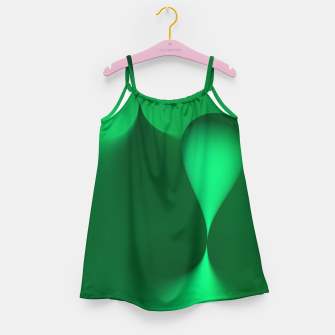 Thumbnail image of globby green Girl's Dress, Live Heroes