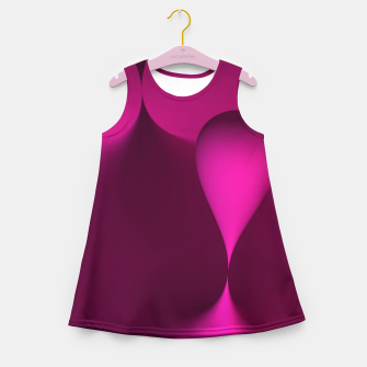 Thumbnail image of globby pink Girl's Summer Dress, Live Heroes