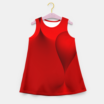 globby red Girl's Summer Dress thumbnail image