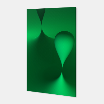 globby green Canvas thumbnail image