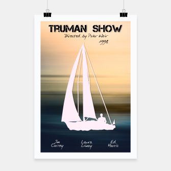Thumbnail image of Truman Show by Peter Weir Plakat, Live Heroes