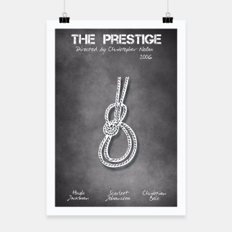 Miniatur The Prestige by Christopher Nolan Plakat, Live Heroes