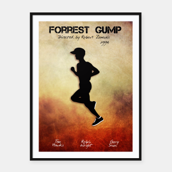 Miniaturka Forest Gump by Robert Zemeckis Plakaty w ramie , Live Heroes