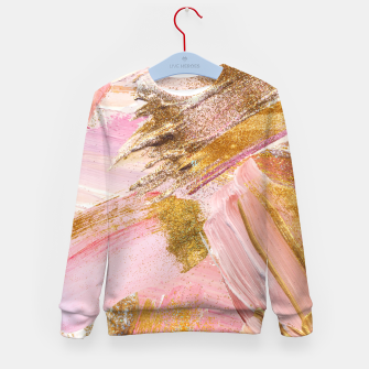 Thumbnail image of Blush Glitz Kid's Sweater, Live Heroes