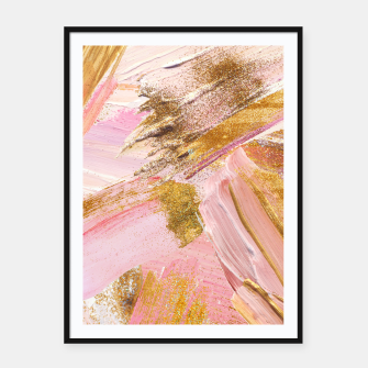 Thumbnail image of Blush Glitz Framed poster, Live Heroes