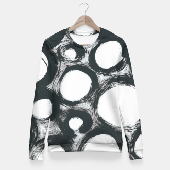 Thumbnail image of Circ Abstract Fitted Waist Sweater, Live Heroes