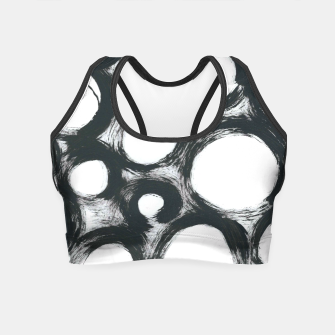Thumbnail image of Circ Abstract Crop Top, Live Heroes