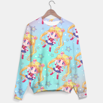 Chibi Sailor Moon Crystal Sweater obraz miniatury