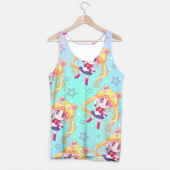 Chibi Sailor Moon Crystal Tank Top obraz miniatury