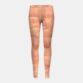 Thumbnail image of Quartz Dunes Girl's Leggings, Live Heroes
