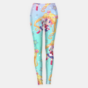 Chibi Sailor Moon Crystal Leggings obraz miniatury
