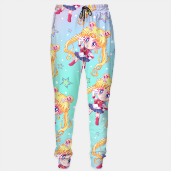 Chibi Sailor Moon Crystal Sweatpants obraz miniatury