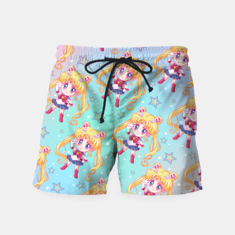 Chibi Sailor Moon Crystal Swim Shorts obraz miniatury
