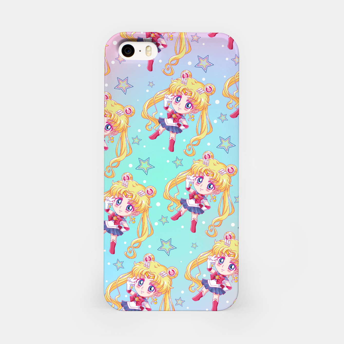 Zdjęcie Chibi Sailor Moon Crystal iPhone Case - Live Heroes