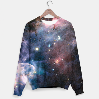 Thumbnail image of Blue Nebula Sweater, Live Heroes