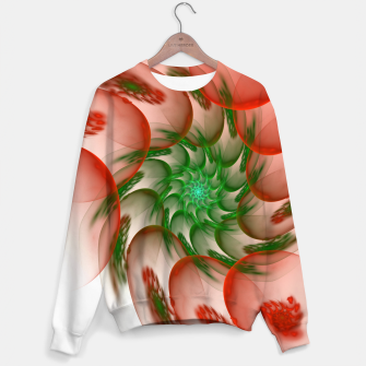 Thumbnail image of fractal flower pattern -2- Sweater, Live Heroes