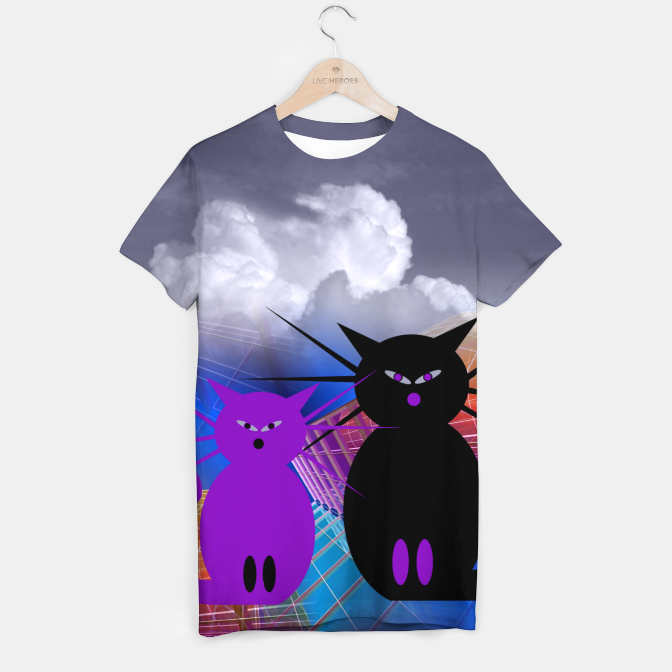 Image of waiting for mice T-shirt - Live Heroes