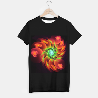 fractal flower pattern -3- T-shirt regular thumbnail image