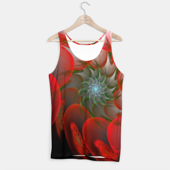 Thumbnail image of fractal flower pattern -1- Tank Top, Live Heroes