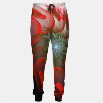 Thumbnail image of fractal flower pattern -1- Sweatpants, Live Heroes