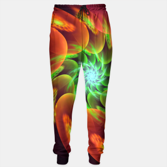 fractal flower pattern -3- Sweatpants thumbnail image