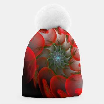Thumbnail image of fractal flower pattern -1- Beanie, Live Heroes