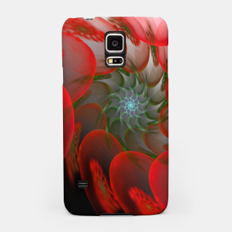 Thumbnail image of fractal flower pattern -1- Samsung Case, Live Heroes