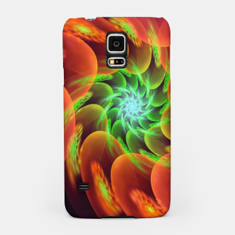 Thumbnail image of fractal flower pattern -3- Samsung Case, Live Heroes