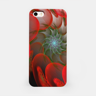 Thumbnail image of fractal flower pattern -1- iPhone Case, Live Heroes