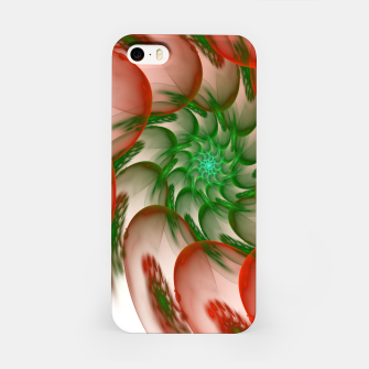 Thumbnail image of fractal flower pattern -2- iPhone Case, Live Heroes