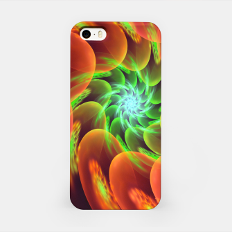 Thumbnail image of fractal flower pattern -3- iPhone Case, Live Heroes