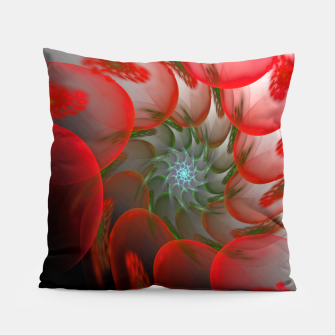 Thumbnail image of fractal flower pattern -1- Pillow, Live Heroes