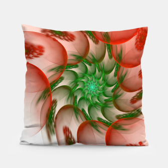 Thumbnail image of fractal flower pattern -2- Pillow, Live Heroes