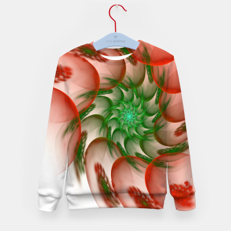 Thumbnail image of fractal flower pattern -2- Kid's Sweater, Live Heroes
