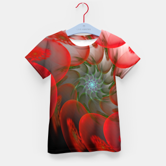Thumbnail image of fractal flower pattern -1- Kid's T-shirt, Live Heroes