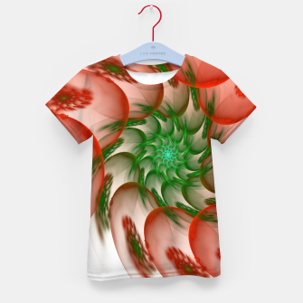 Thumbnail image of fractal flower pattern -2- Kid's T-shirt, Live Heroes