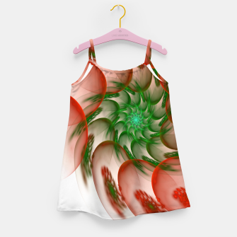 Thumbnail image of fractal flower pattern -2- Girl's Dress, Live Heroes