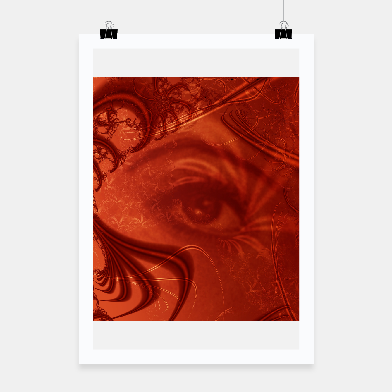 Image of the eye Poster - Live Heroes