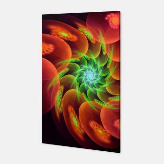 fractal flower pattern -3- Canvas thumbnail image