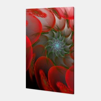 Thumbnail image of fractal flower pattern -1- Canvas, Live Heroes