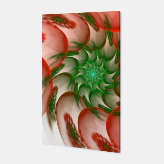 Thumbnail image of fractal flower pattern -2- Canvas, Live Heroes