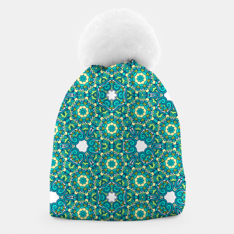 Thumbnail image of TRIBE PATTERN Beanie, Live Heroes